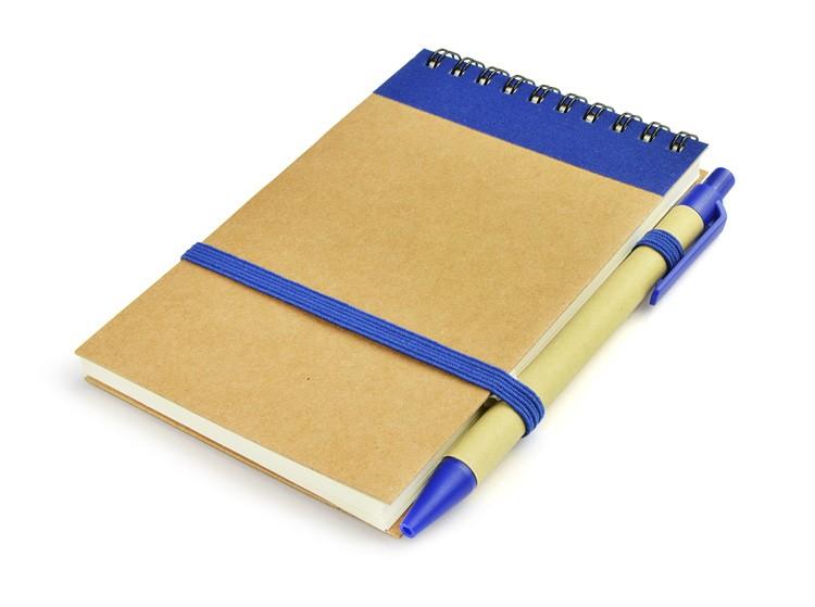 Notebook with a ball pen MILO