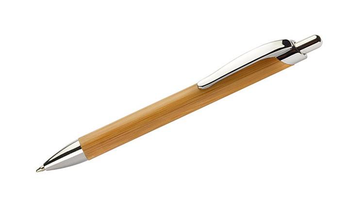 Bambusové kuličkové pero PURE