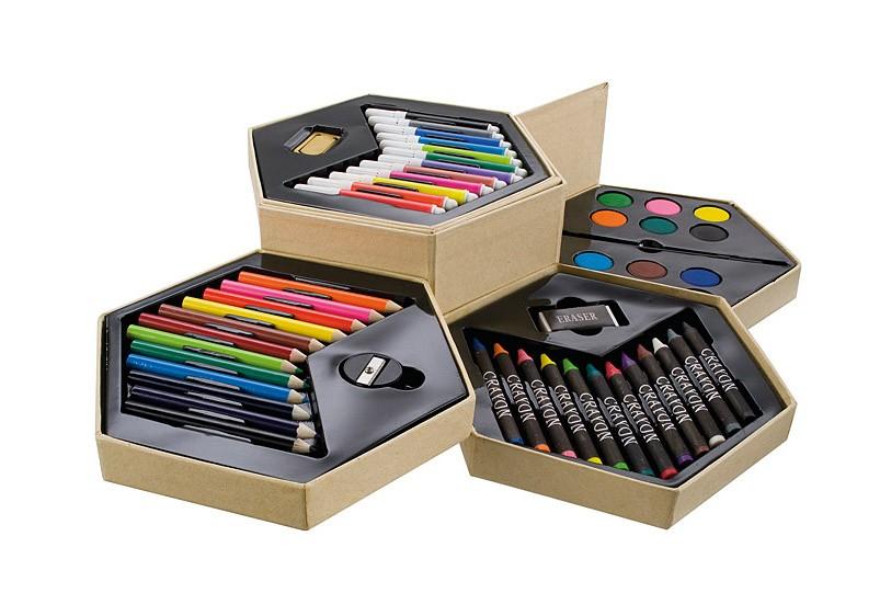 Sada ARTIST  (voskovky, pastelky, fixy, vodové barvy)