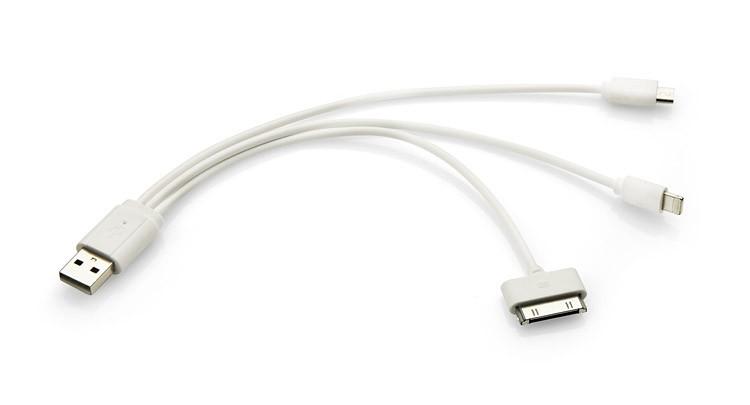 3 v 1 USB kabel TRIGO