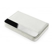 Business card holder  LARISS WHITE