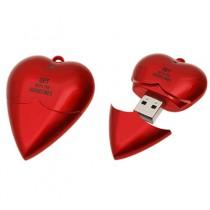 Plastové USB srdce