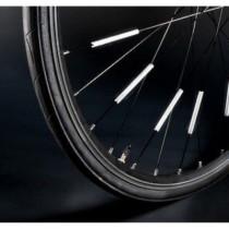 Reflexní tyčinky na kolo