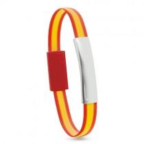 Silikonový náramek - telefonní kabel