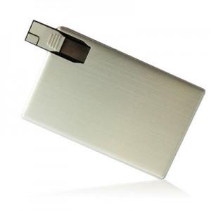 USB karta kovová (hliník)